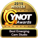 YNOT awards - Studio20 Best Emerging Cam Studio