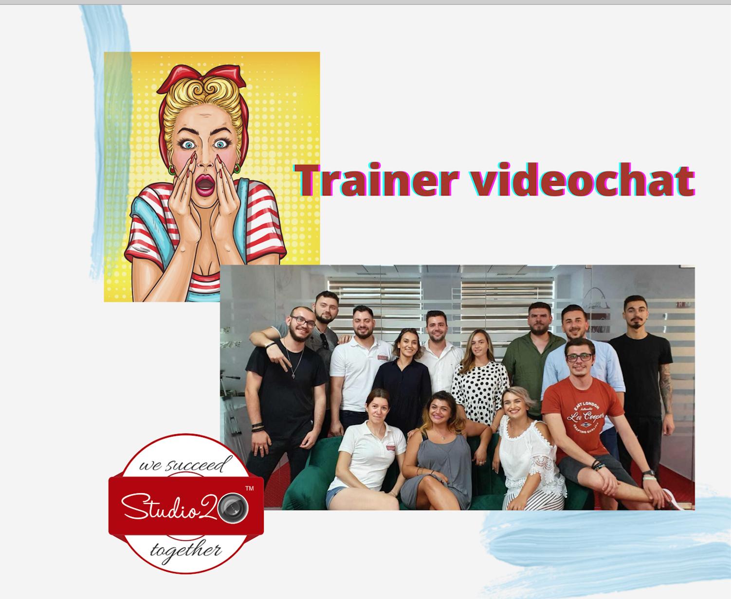 Trainer videochat – totul despre jobul momentului